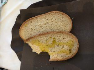 Glutenfreies Brot als Vorspeise