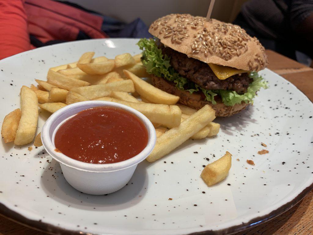 Glutenfreier Burger in Frankfurt